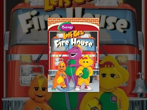 Barney: Lets Go to the Firehouse
