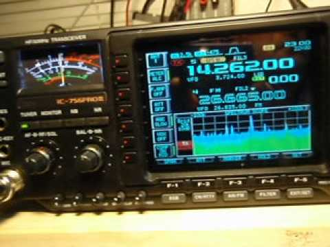YM7KA ICOM PRO III VS FT 2000 Record