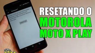 Formatando/Restaurando o Motorola Moto X Play (XT1563) #UTICell