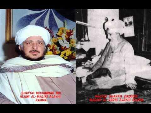 Shaykh Muhammad Bin Alawi al-Maliki with Shaykh Ziauddin Madani