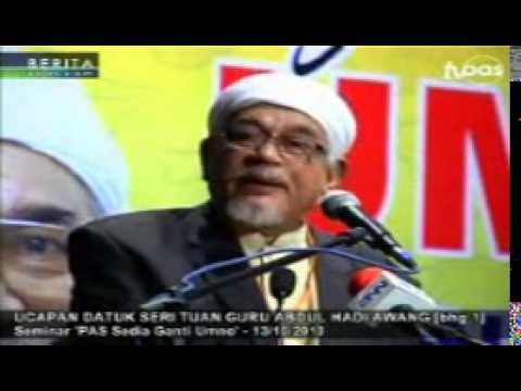 Tuan Guru Hhadi Pgu 131210 -  3  Umat Islam Mencapai Keemasan Apabila Berpegang Dengan Islam