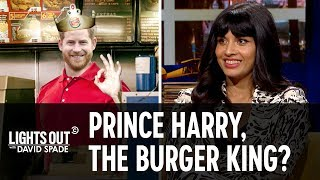 How Prince Harry Could Still Become a King (feat. Jameela Jamil) - Lights Out with David Spade