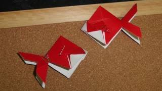 Daily Origami:  222 - Chinese New Years - Ang Pow Goldfish