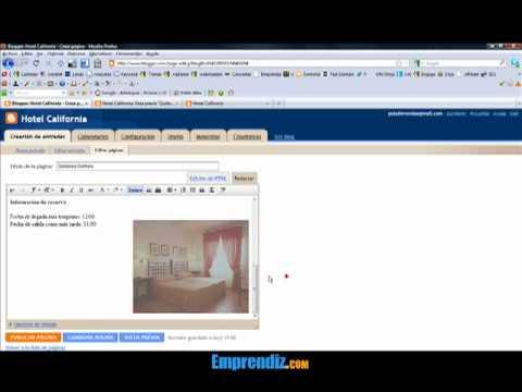 Cómo añadir páginas en Blogger