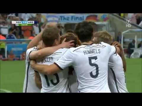 Finaltor Final Goal Fifa World Cup Brasil Maracana Germany Argentinia Mario Goetze