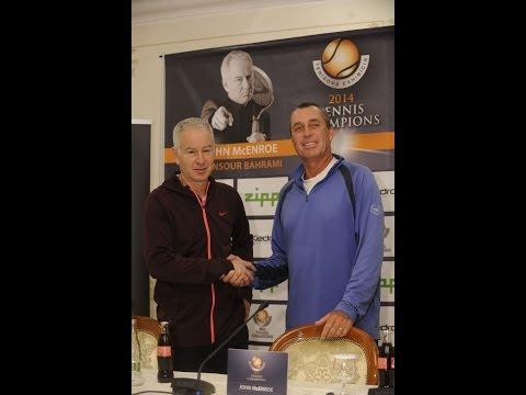 Tennis Champions 2014: John McEnroe & Ivan Lendl talking about each other