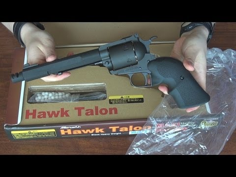 (Airsoft) Unboxing the Ruger Super Blackhawk Marushin (Hawk Talon) from Impulse101