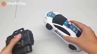 Đồ chơi trẻ em  ô tô cảnh sát điều khiển từ xa | ô tô đồ chơi trẻ em