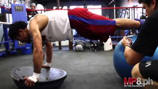 manny pacquiao training power