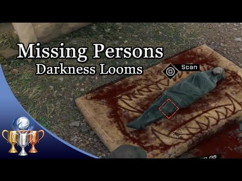 Watch Dogs - Missing Persons Investigation (Edgar the Serial Killer) - Darkness Looms Trophy