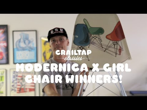 Girl x Modernica Modern Chairs Giveaway Winner!
