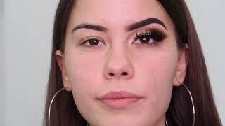 Kako pravilno nasminkati spustene kapke + nanosenje eyelinera