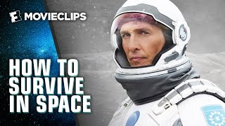 Video clip How to Survive Space According to the Movies (2015) HD