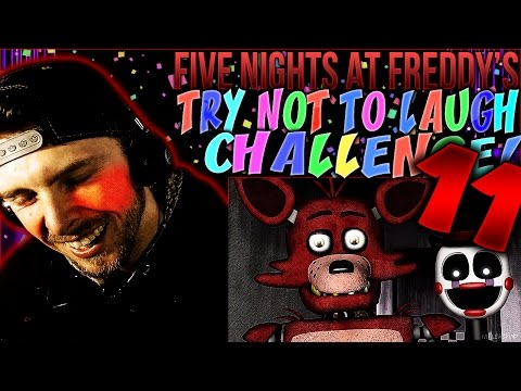 Vapor Reacts #329 | [FNAF SFM] FIVE NIGHTS AT FREDDY'S TRY NOT TO LAUGH CHALLENGE REACTION #11