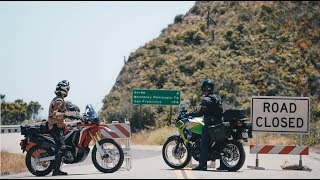 Honda CRF250L Rally vs Kawasaki Versys-X 300: The Summer the Coast was Closed | ON TWO WHEELS