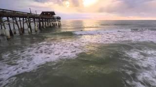 Coco Beach | Surfers Paddling Aerial
