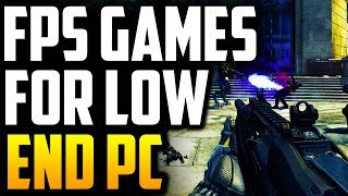 Top 10 FPS Games For Low End PC 2018 | Best FPS Games For Low End PC [GameZone]