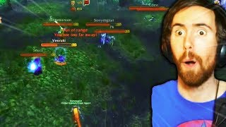 Asmongold Plays WSG For the First Time on the WoW Classic Beta