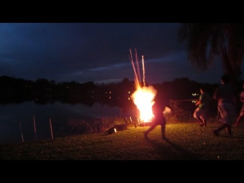 We Won The Fireworks Battle!!! (7.4.13)