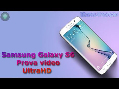 Samsung Galaxy S6 prova video UltraHD