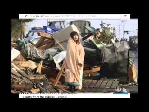 Japan earthquake   5  30  2015    Large 8 5M earthquake strikes near Japan 7 8M revised magnitude