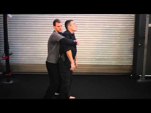 Self Defense Tactics - Rear Bear Hug Escape