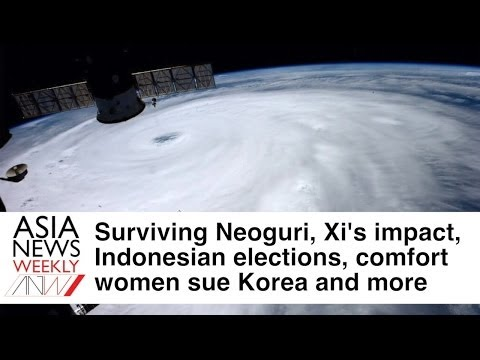 Typhoon Neoguri, Xi, Comfort Women and more - Asia News Weekly