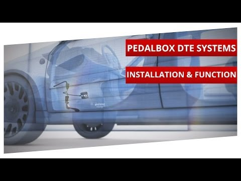 Adaptable. more dynamic. faster response. The PedalBox Installation - DTE Systems