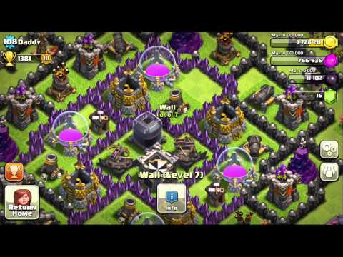 Daddy COC Base Review!
