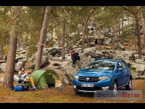 Dacia Sandero Stepway 2013, промо