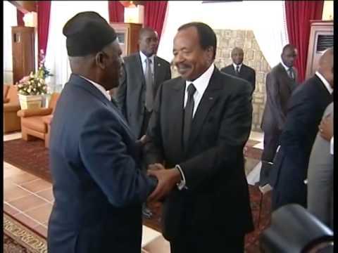 Paul Biya Fru Ndi   Bamenda, 10 décembre 2010
