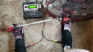 Pedal/module settings for double strokes - Trick Pro 1-V