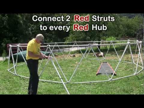 Zip Tie Domes: How to Build a 24 Foot Geodesic Dome