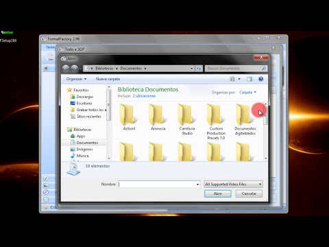 Descargar Format Factory conversor de formatos Gratis KX3