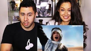 BATTLEFIELD 1 SINGLE PLAYER TRAILER Reaction by Jaby & Jolie!