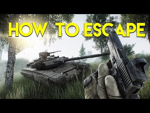 HOW TO ESCAPE FROM TARKOV