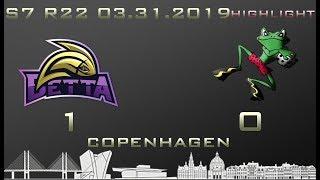 Euroleague 7th season HIGHLIGHT Betta - Tudserne 1-0 (1-0)