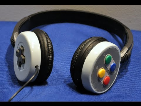 SNES Headphones - Super Nintendo Controller Mod
