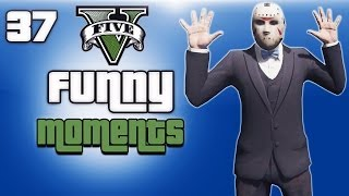 GTA 5 Online Funny Moments Ep. 37 (High Life DLC, Piggy Glitch, Epic Concert, Funny Animations)
