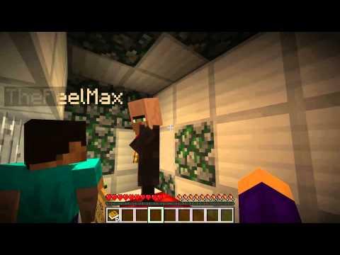Minecraft - Прохождение карты - Побег из тюрьмы - Часть 4