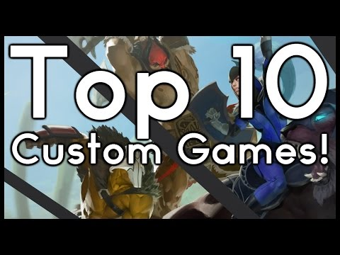 DOTA 2 TOP 10: BEST CUSTOM GAMES!! (Pre Reborn)