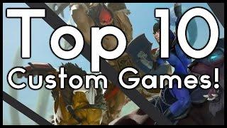 DOTA 2 TOP 10: BEST CUSTOM GAMES!! (Pre Reborn)