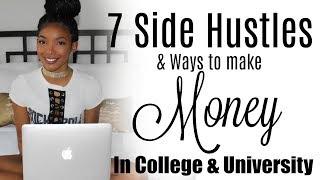 7 Ways to Make Money in College/University | Brittany Daniel