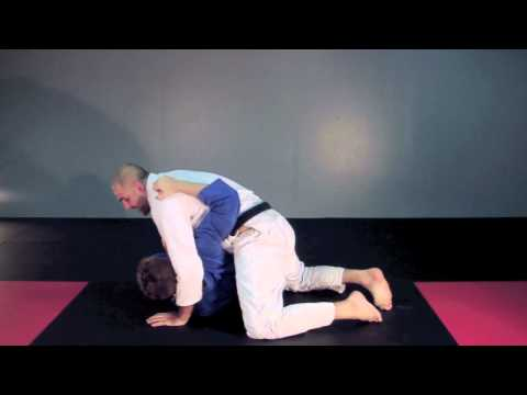 Side Control Submission Bow and Arrow Choke.mov Image 1