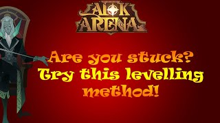 AFK Arena Tips   Are you stuck? Try this levelling method! (Most effective for newbies)