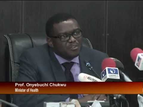 Minister of Health Updates on Ebola Status in Nigeria