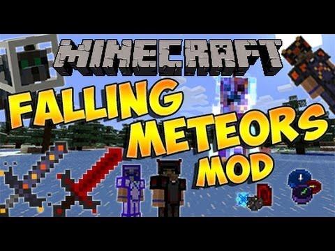 Minecraft 1.6.4 - Como instalar FALLING METEORS MOD - ESPAÑOL