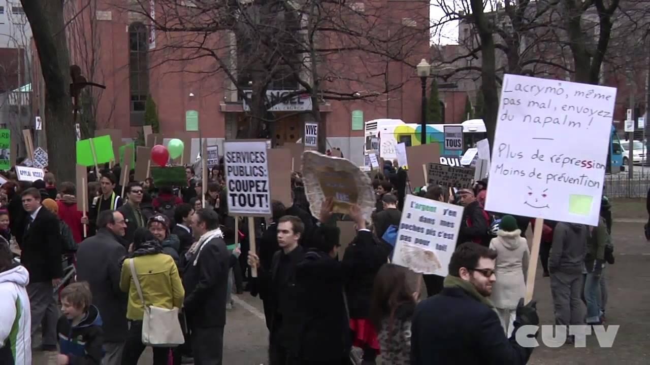 Manifestation de Droite Pour la Hausse