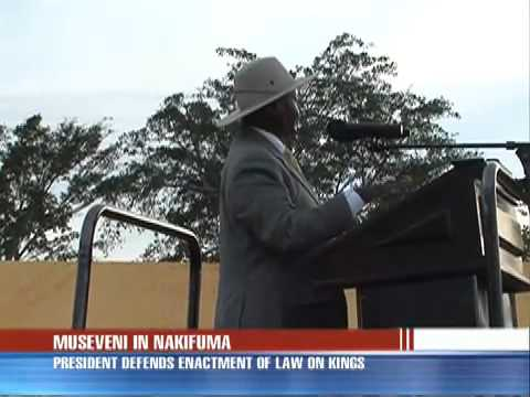 Museveni warns critics in Mukono