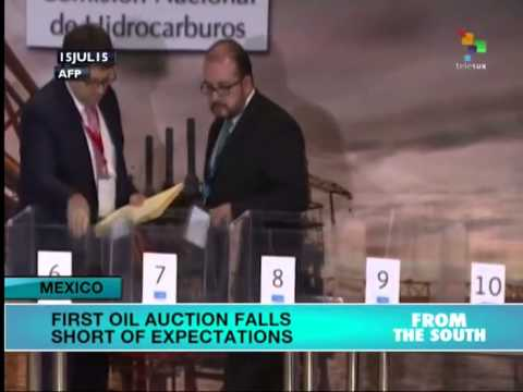 Mexico: First Oil Auction Falls Short of Expectations